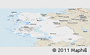 Classic Style Panoramic Map of West