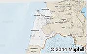 Classic Style 3D Map of Haifa