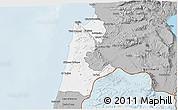 Gray 3D Map of Haifa