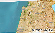 Satellite 3D Map of Haifa