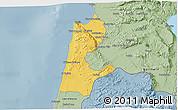 Savanna Style 3D Map of Haifa