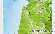 Physical Map of Haifa