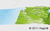 Physical Panoramic Map of Haifa