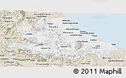 Classic Style Panoramic Map of Abruzzo