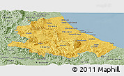 Savanna Style Panoramic Map of Abruzzo