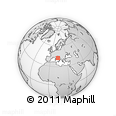 Outline Map of Teramo