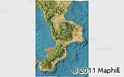 Satellite 3D Map of Calabria