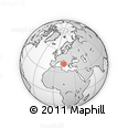 Outline Map of Napoli