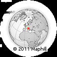 Outline Map of Forli-Cesena