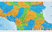 Political Map of Emilia-Romagna