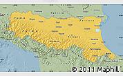 Savanna Style Map of Emilia-Romagna