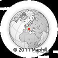 Outline Map of Gorizia