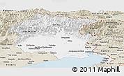 Classic Style Panoramic Map of Friuli-Venezia Giulia