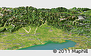 Satellite Panoramic Map of Friuli-Venezia Giulia