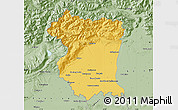 Savanna Style Map of Pordenone