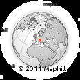 Outline Map of Pordenone