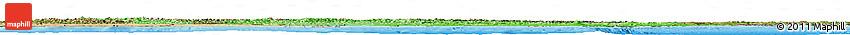 Political Shades Horizon Map of Italy, satellite outside, bathymetry sea