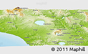 Physical Panoramic Map of Viterbo