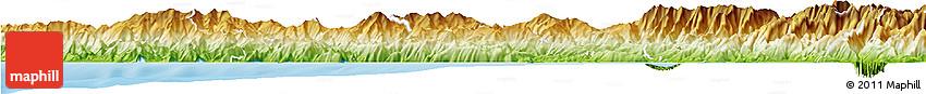 Physical Horizon Map of La Spezia