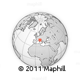 Outline Map of La Spezia