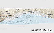 Classic Style Panoramic Map of Liguria