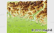 Physical 3D Map of Bergamo