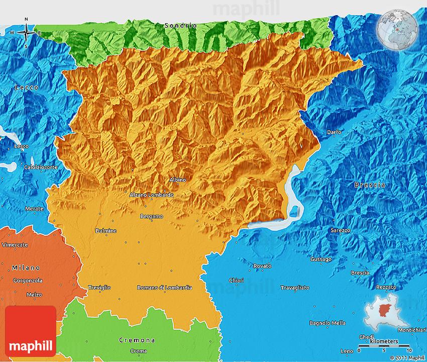 b a s bergamo italy map - photo#20