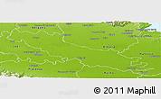 Physical Panoramic Map of Cremona