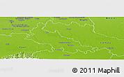 Physical Panoramic Map of Lodi