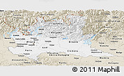 Classic Style Panoramic Map of Lombardia