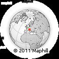 Outline Map of Sondrio