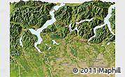 Satellite 3D Map of Varese