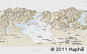 Classic Style Panoramic Map of Varese