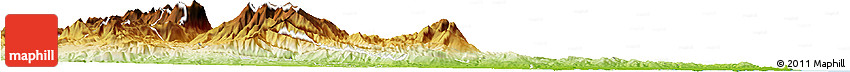 Physical Horizon Map of Ascoli Piceno