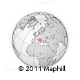 Outline Map of Ascoli Piceno