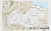 Classic Style 3D Map of Molise