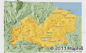 Savanna Style 3D Map of Molise