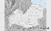 Gray Map of Molise