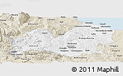 Classic Style Panoramic Map of Molise