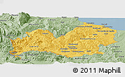 Savanna Style Panoramic Map of Molise