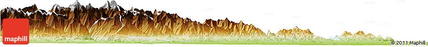 Physical Horizon Map of Biella