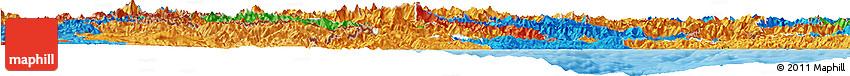 Political Horizon Map of Piemonte