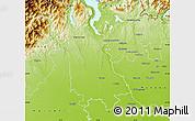 Physical Map of Novara