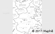 Blank Simple Map of Piemonte