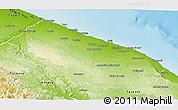 Physical 3D Map of Bari