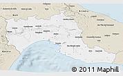 Classic Style 3D Map of Taranto