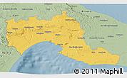 Savanna Style 3D Map of Taranto
