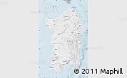 Gray Map of Sardegna