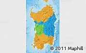 Political Map of Sardegna