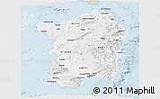Classic Style Panoramic Map of Sardegna